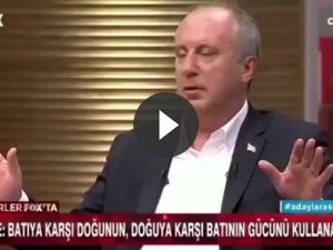 Muharrem İnce FOX TV'de